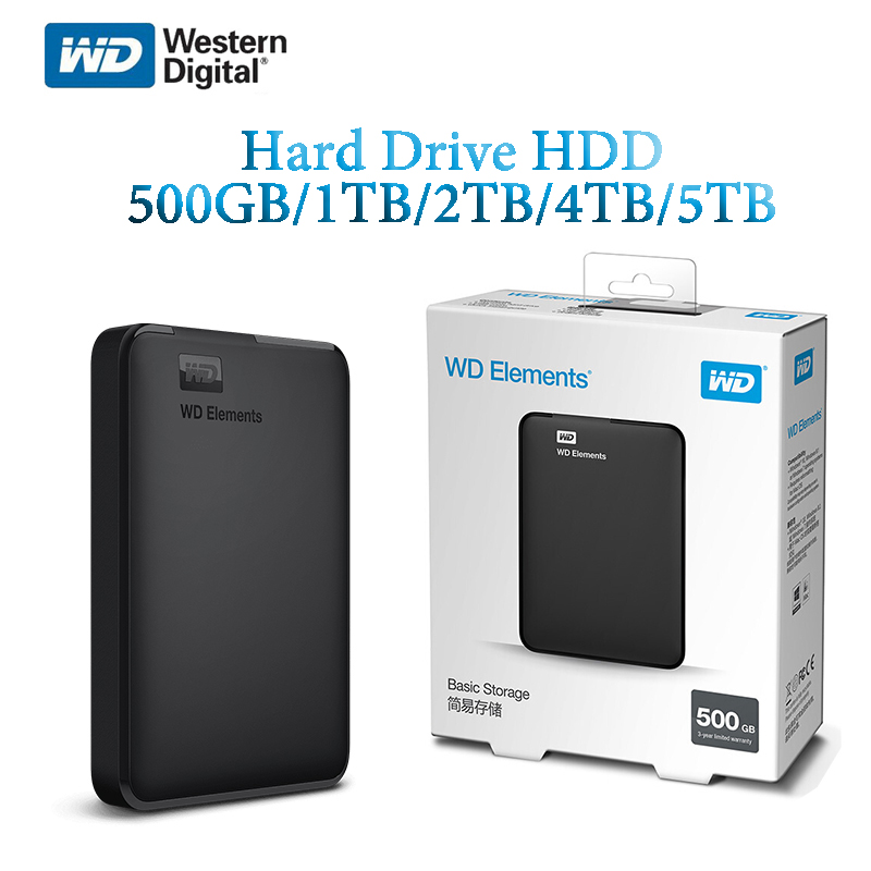 Western Digital WD Elements <font><b>2.5</b></font>
