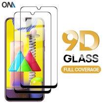 2pcs Screen Protector für Samsung Galaxy M31S M31 Gehärtetem Glas Voll abdeckung Schutz Glas Film für Samsung M30 M30S