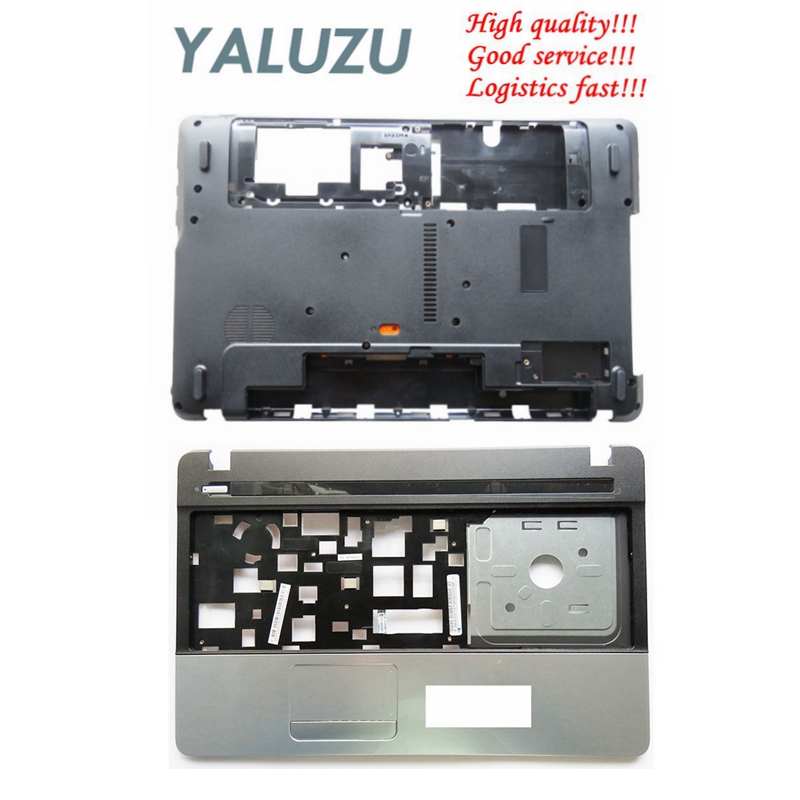 YALUZU laptop Bottom Base case cover For Acer Aspire E1-571 E1-571G E1-521 E1-531 E1-531G NV55 AP0HJ000A00 LOWER Palmrest COVER