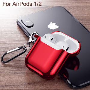 Image 3 - Airpods durumda 1 2 kılıfları kulaklık için Apple hava bakla kapak Earpods kulaklık kutusu kılıf koruyucu cilt kapak aksesuarları