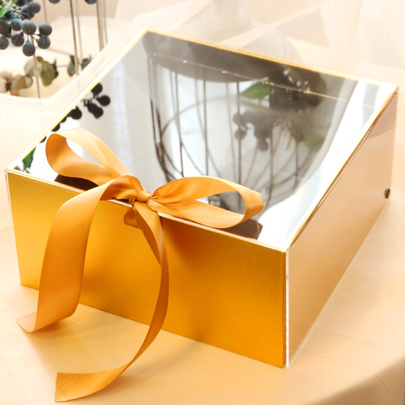 1PCS Personalized Acrylic Groom Groomsman Bride Bridesmaid Wedding Hen Party Anniversary Package Birthday Gift Boxes