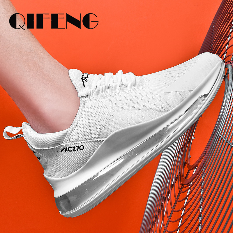 Summer Casual <font><b>Shoes</b></font> Mens Sport <font><b>Shoes</b></font> Comfortable Air Sneakers White Mesh Footwear Spring Black Tenis <font><b>Shoes</b></font> Zapatos De Hombre <font><b>350</b></font> image