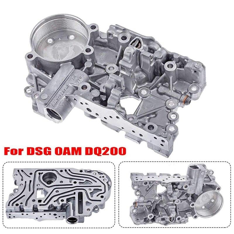 Thicken 4.6Mm Oam Dq200 Dsg Transmission Accumulator Housing Valve Body Plate For Skoda 0Am325066Ac|Transmission Rebuild Kits| |  - title=