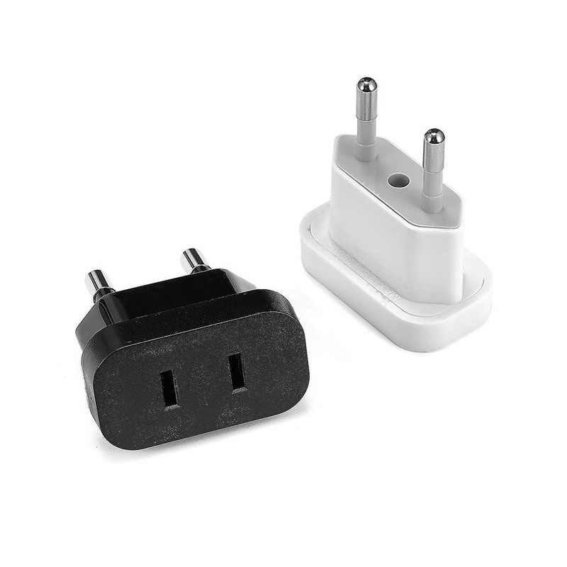 Vs Naar Eu Converter Plug Adapter Power Plug Converter Eu Socket Travel Adapter Ons Eu Adapter Stopcontact Muur power