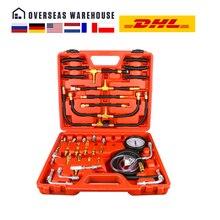 TU 443 Deluxe Manometer Kraftstoff Injektion Druck Tester Gauge Kit system 0 140 psi kostenloser versand