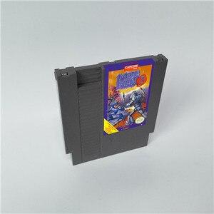 Image 3 - Mega Man 1 2 3 4 5 6 vardır 6 seçenekleri, her seçeneği sadece bir oyun Megaman   72 pins 8bit oyun kartuşu