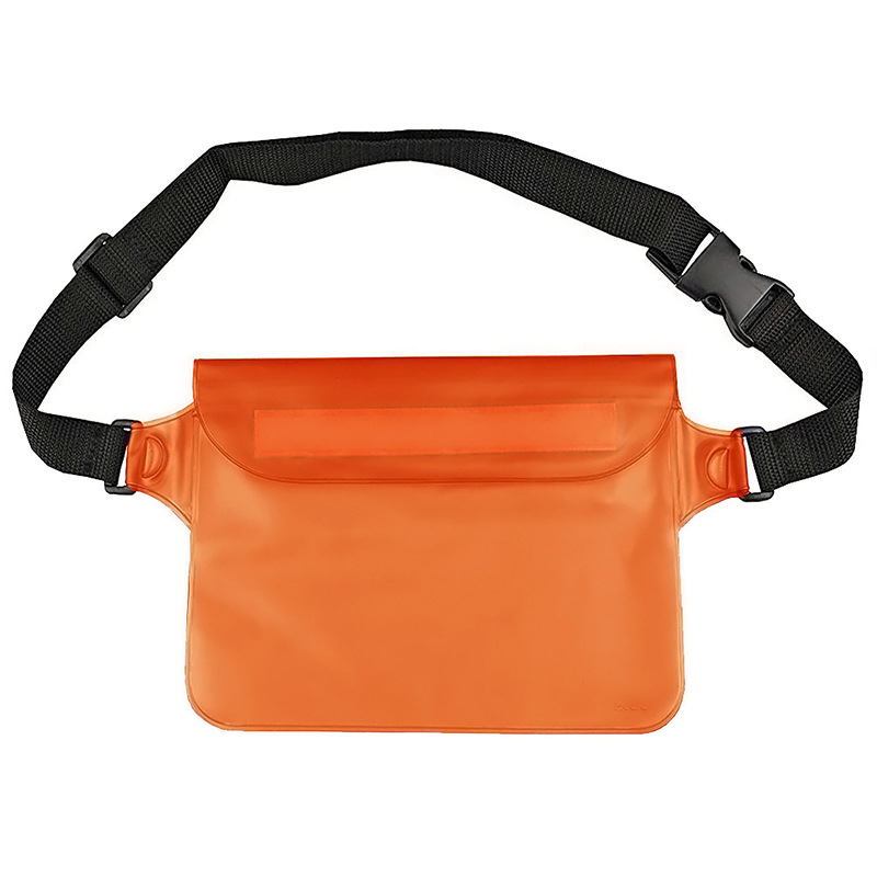 Amazon Outdoor PVC Waist Bag PVC Waterproof Waist Bag Multi-functional Waterproof Waist Bag Outdoor Waterproof Waist Bag