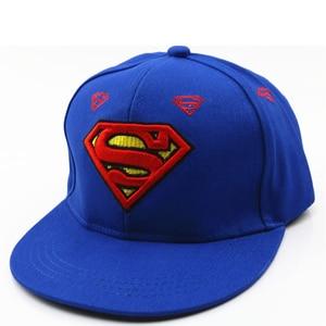 Image 3 - 3D haft Iron Man Batman czapki baseballowe dzieci Snapback czapki hip hopowe kapelusze przeciwsłoneczne dla chłopców dziewcząt 2 9 lat gorras
