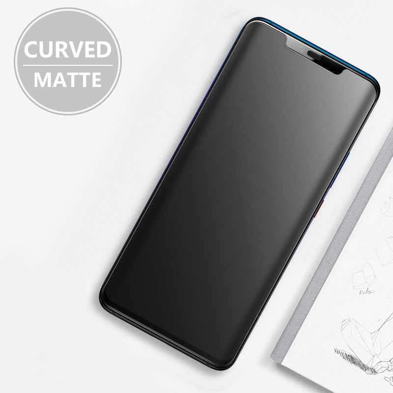 Matte Curved CHYI For Huawei Mate 20 Pro Glass Screen Protector Full Tempered For Huawei P30 Mate 30 Pro Glass Screen Protector