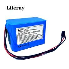 Liieruye – batterie Rechargeable au lithium 18650, 12 V, 10ah, 10000 mAh, nouvelle collection