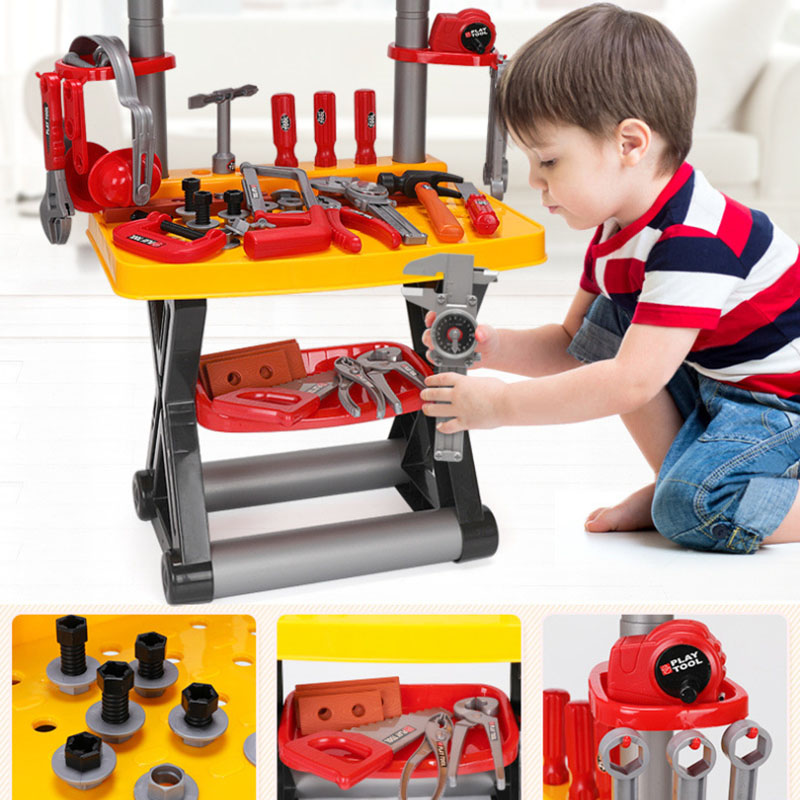 Play Repairing Tool Toy Set For Kids Screwdriver Roleplay Toddler Playhouse Game For Children M09