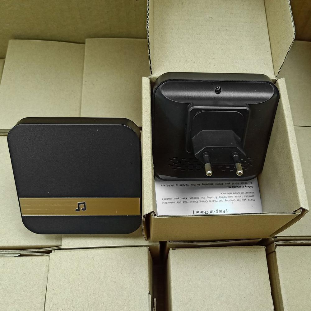 Купить с кэшбэком Visual Doorbell Chime Wifi Universal Plug-In Chime Smart Wireless Doorbell Receiver For Smart WiFi Security DoorBell