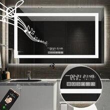 Прямая поставка светодиодное умное зеркало для ванной комнаты