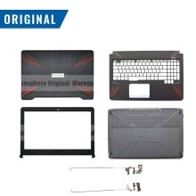 New Original LCD Rear Lid Back Cover Front Bezel Hinges For ASUS FX80 FX80G FX80GD FX504 FX504G FX504GD FX504GE