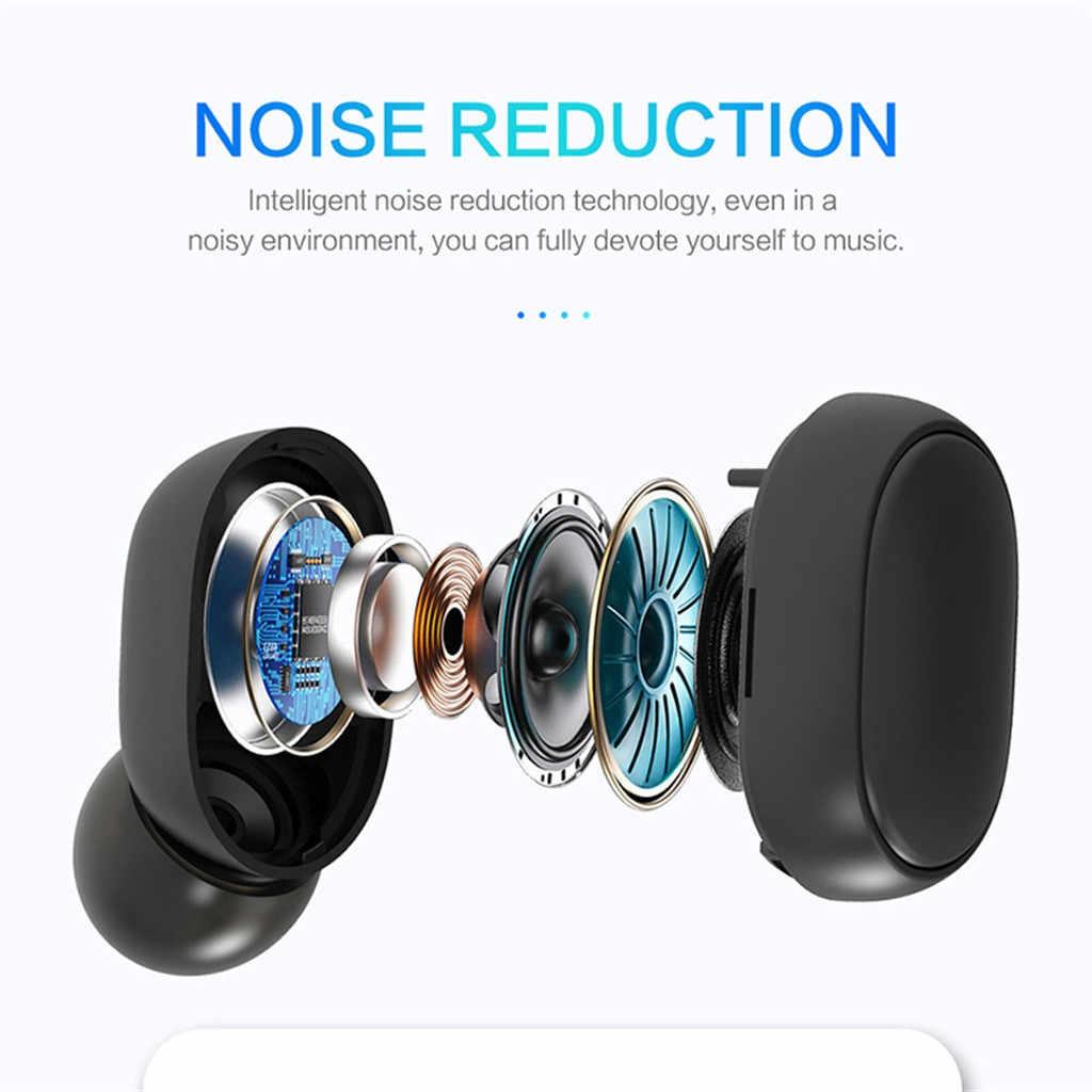 سماعات بلوتوث 5.0 سماعات لاسلكية TWS سماعات بلوتوث سماعات يدوي واقي أذن رياضي للألعاب