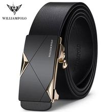 WILLIAMPOLO Fashion Men Leather Belts So