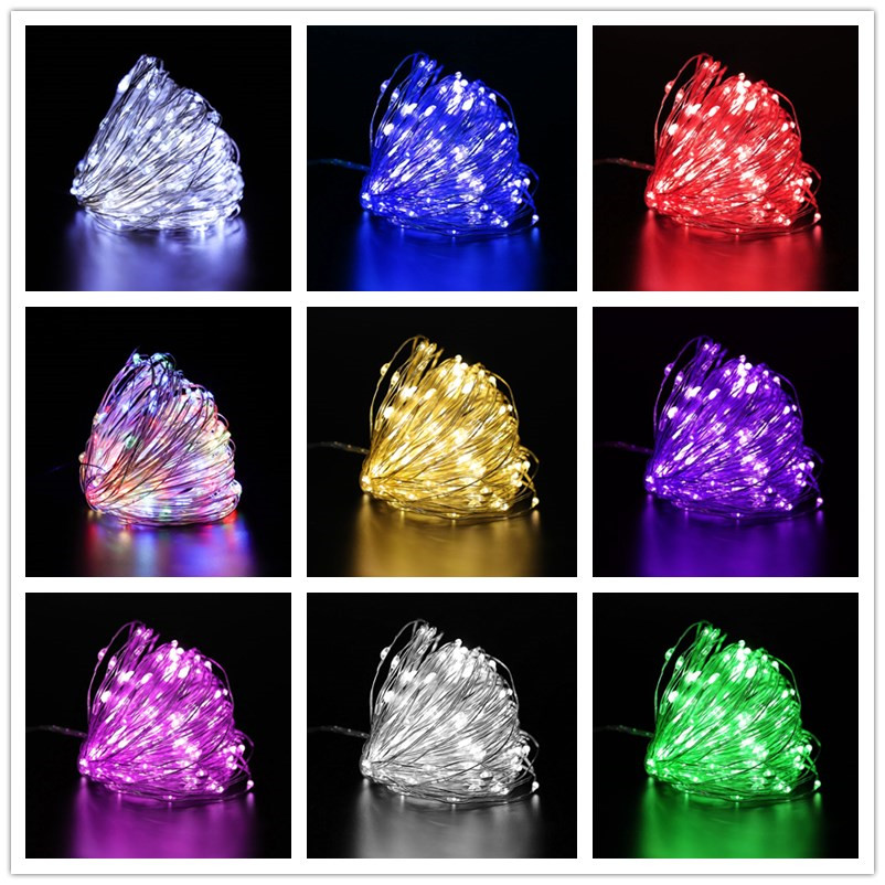 New Year Decoration  5M/10M LED String Lights Christmas Decorations for Home Christmas Tree Christmas Gift Christmas Ornaments