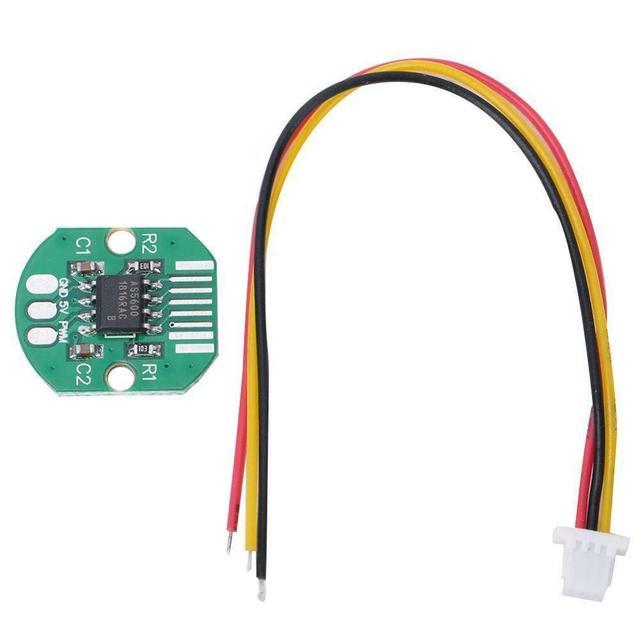 AS5600 ערך מוחלט מקודד PWM I2C יציאת גבוהה דיוק 12 קצת Brushless Gimbal מנוע מקודד