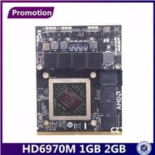 """تعزيز HD 6970M HD6970 hd6970m 2GB 2G 1GB VGA بطاقة الفيديو ل كارت أبل إيماك 27 """"منتصف 2011 AMD راديون A1312 661 5969 109 C29657 10"""