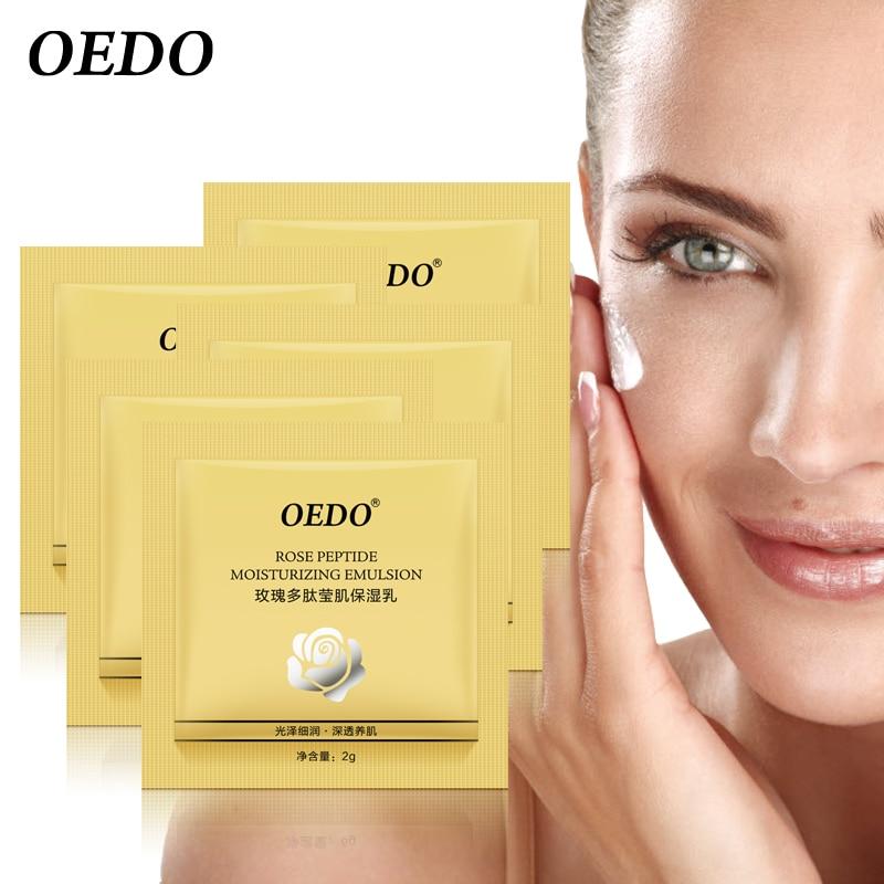 5pcs/lot Rose Argireline Ageless Hyaluronic Acid Anti Winkles Anti Aging Emulsion Face Care Cream Whitening Treatment Skin Care