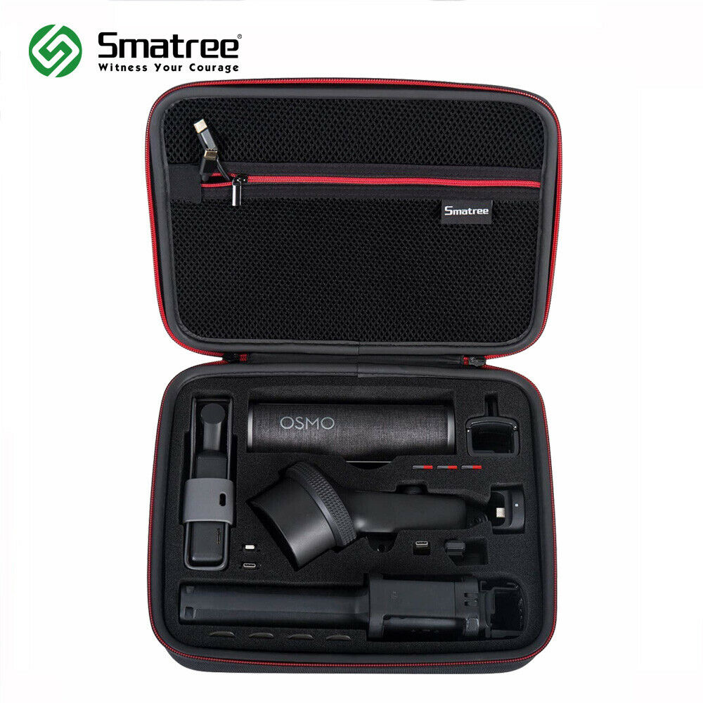 Smatree Waterproof Hard Carrying Case Portable Storage Bag for  DJI Osmo Pocket Extension Rod, Osmo Pocket Waterproof CaseCamera/Video  Bags