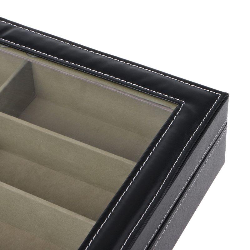 Um profissional-projetado preto 8 slots óculos de