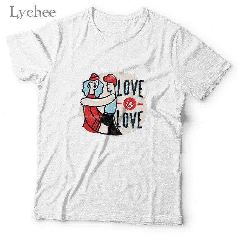 Личи Harajuku с коротким рукавом из хлопка, женские футболки, женские футболки, свободный крой Оливер латте с принтом в виде надписи «Love» футболка Повседневная Женская обувь Футболка Топ