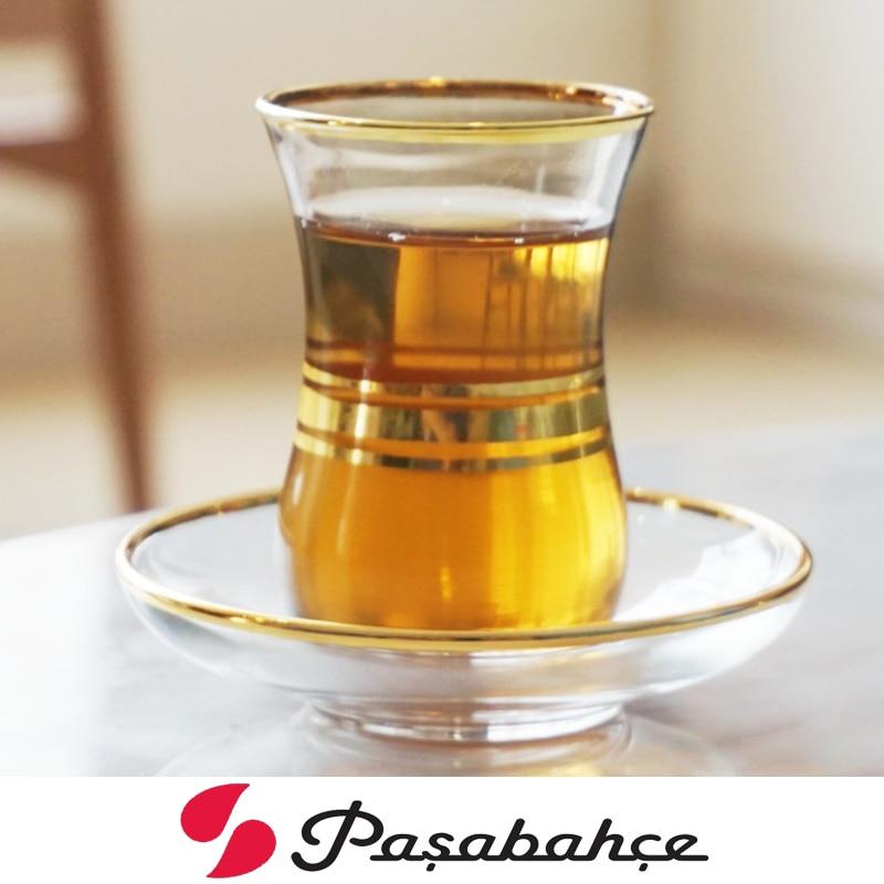 Image 3 - Профессиональная Турецкая черная чайная чашка, блюдце, набор, ручная роспись, Трассировка, Золотое стекло, Bohea, чайная чашка, специальная кофейная эспрессо, кружка Tazas XicaraЧашки и соусницы   -