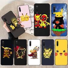 PENGHUWAN Pokemons Ball pikachu Phone Case Cover for Redmi Note 8 8A 7 6 6A 5 5A 4 4X 4A Go Pro Plus Prime