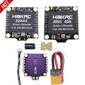 HAKRC 4x50A 30A 40A 4In1 50A 3-6S BLHeli_32 5 в 3A BEC Dshot1200 мини-размер ESC для DIY квадрокоптера FPV гоночный Дрон