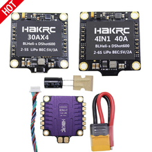 Drone 4in1 50a Blheli 32-5v FPV Mini HAKRC 30A for DIY Quadcopter Racing 4x50a 3-6S Dshot1200