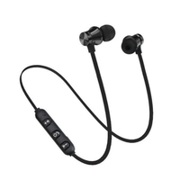 NEW Magnetic Bluetooth Earphone Sport Wireless Headphone Bluetooth Headset Handsfree Earbuds With Mic For Huawei Xiaomi Samsung 2