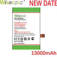 WISECOCO 13000mAh Armor 3 battery For Ulefone Armor 3 Cell Phone In Stock Latest Production High quality Battery+Tracking Number