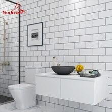 5M Modern Kitchen Tile Sticker Bathroom Waterproof Self adhesive Wallpaper Living Room Bedroom Vinyl PVC Home Decor Wall Sticker