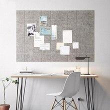 Войлочная доска для заметок в скандинавском стиле, доска для записей, домашняя фотобумага, булавка для декора стен, для планирования распис...