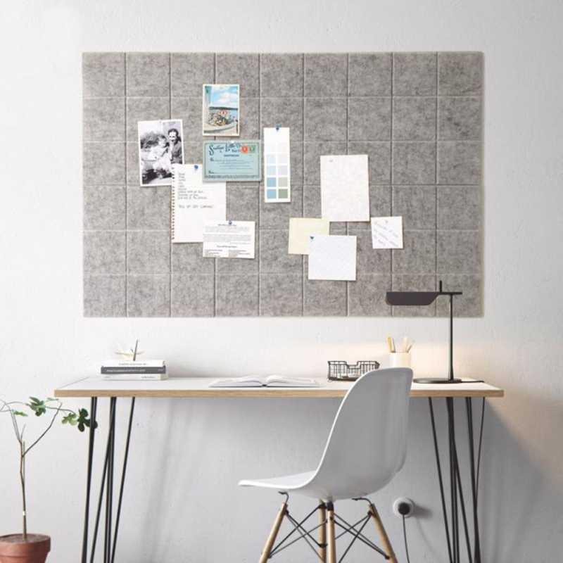Nordic Stijl Vilt Brief Note Board Message Board Home Fotopapier Pin Muur Decor Planner Board Kantoor Thuis Decoratie