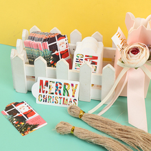 Cards Labels Wrapping-Paper Kraft-Tags Gift Merry-Christmas DIY 50PCS Party-Supplies