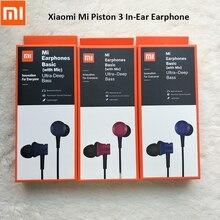 Xiaomi 3.5mm kulak içi kulaklık Mi kulaklık Piston kulakiçi taze sürüm için Mic ile Redmi not 7 8 pro 8A 7A 8T 6 Mi 5 5S a1 A2 A3