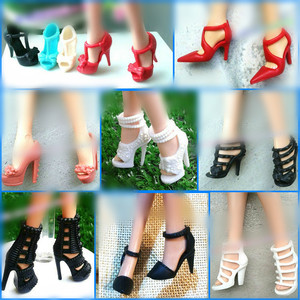 Doll Shoes Mix style High Heel