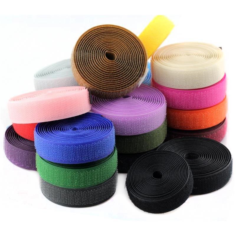 1 рулон 1 см * 1 м волшебный клей самоклеящаяся лента ремешок обруч петля ремешок на липучке застежка лента с защитой от царапин рулон крепежн...