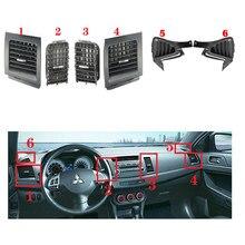CAPQX dla Mitsubishi Lancer EX Side klimatyzator wnętrze centrum konsola klimatyzacja otwory wentylacyjne