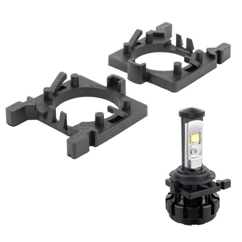 1 זוג H7 LED פנס הנורה מחזיק מתאם עבור פורד פוקוס פיאסטה מונדיאו אביזרי רכב