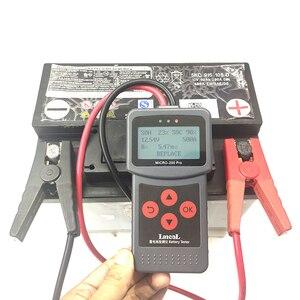 Image 3 - MICRO 200 PRO Tester Batteria Auto 12v 24v Multi Language Digitale AGM EFB Gel Automotive Sistema di Carico Della Batteria analizzatore Per Auto Moto