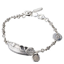 925 Sterling Silver Bracelet Jewelry for Women Men Feather Eagle Chain bracelets Bangle women bracelets silver dragonfly bracelet for women romantic bracelets silver 925 jewelry