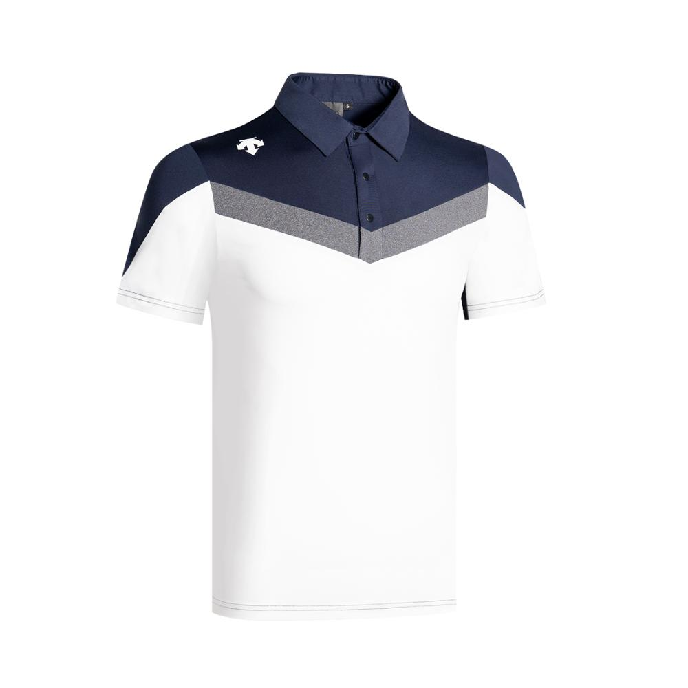 2020 New Golf Men's Short Sleeve Golf Polo Shirt