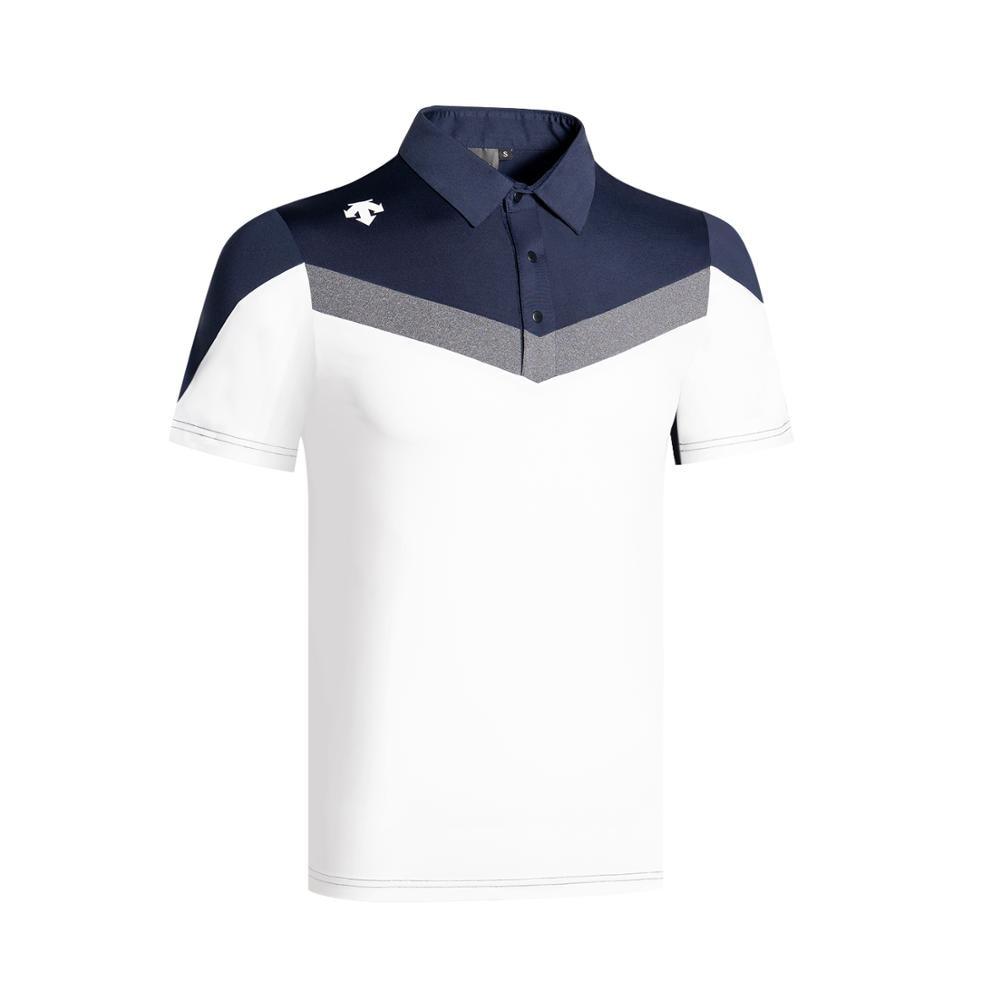 2020 New Golf Men's Short Sleeve Golf Polo Shirt