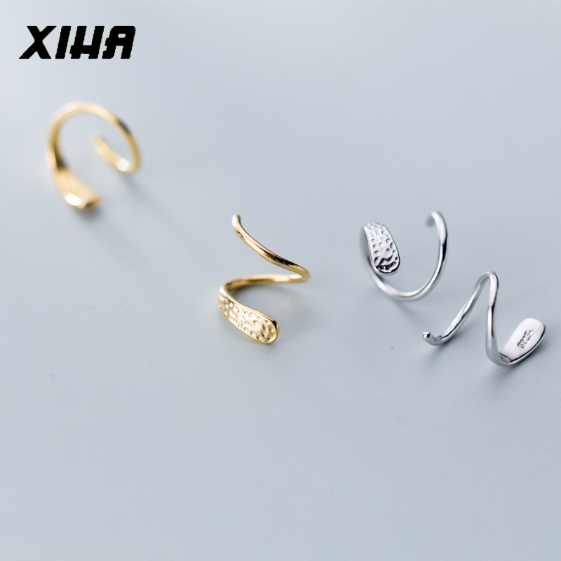 SIENNA693 Silver Plated Bangle Bracelets Open Knot Cuff Bangle 925 Silver Jewelry Gift for BFF SU700