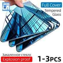 3 pçs cobertura completa de vidro temperado para oppo reno 3 2 z ace 10 x zoom protetor de tela para realme x lite x2 x50 pro vidro protetor