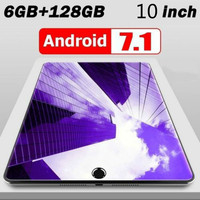 New Original andriod 8.0 10 Inches 1280*800 IPS Screen  Dual SIM 4G Phone Tablet PC WIFI 128G ROM Tablet Dual Camera GPS Phone