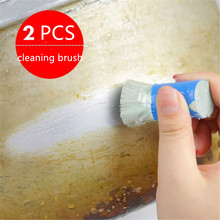 2Pcs Magic Stainless Steel Cleaning Brushes Rod Stick Metal Rust Remover Cleaning Stick Pot Brush Kitchen Clean Tools Cleaning 1pcs cleaning brush magic stick metal rust remover cleaning stick wash brush pot car window cleaning